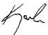 Karla Signature First Name Only