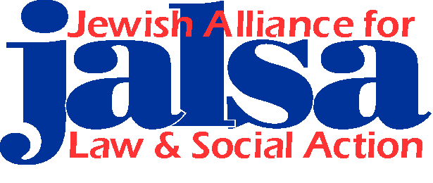 JALSA logo (Jewish Alliance for Law and Social Action)