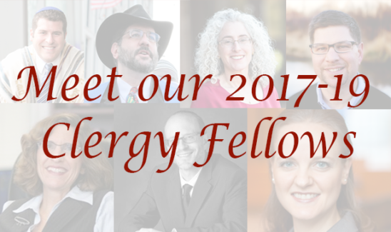 Meet our 2017-19 Clergy Fellows