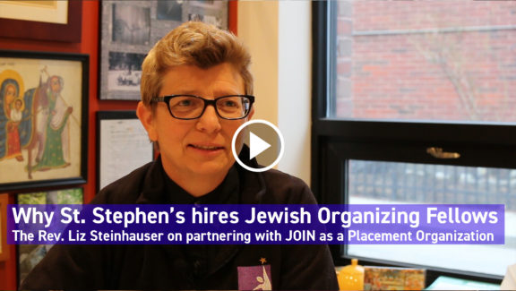 Learn more about becoming a Jewish Organizing Fellowship Placement