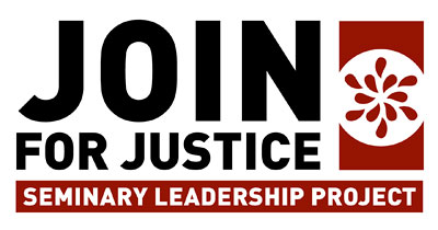 logo reads: JOIN for Justice Seminary Leadership Project