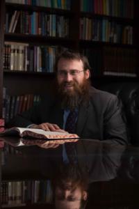 headshot of Rabbi Garth Silberstein